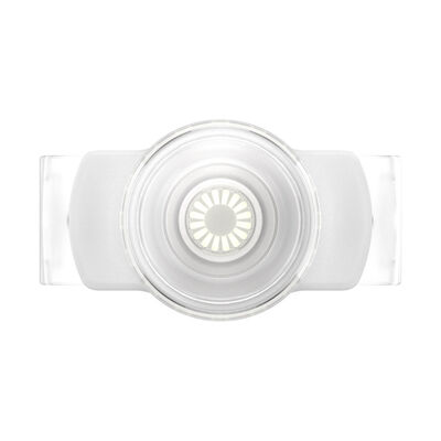 PopGrip Slide Stretch Clear on White