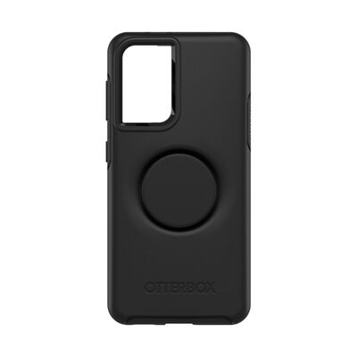 Otter + Pop Symmetry Series Case Black for Samsung S21