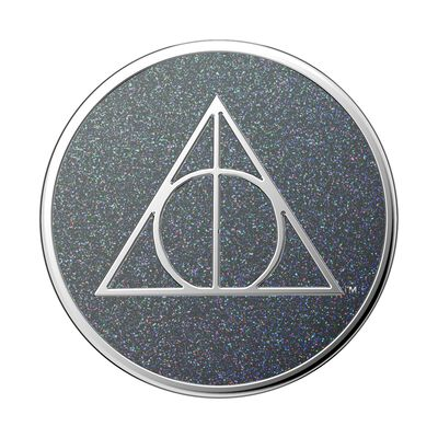Enamel Glitter Deathly Hallows