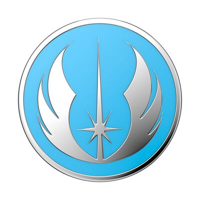Enamel Glow-in-the-dark Jedi Symbol