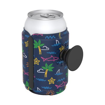 PopThirst Can Holder Neon Tropicali