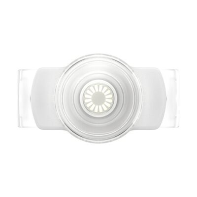 PopGrip Slide Stretch Clear on White with Square Edges