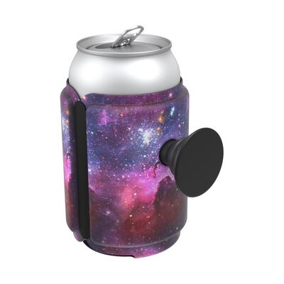 PopThirst Can Holder Blue Nebula